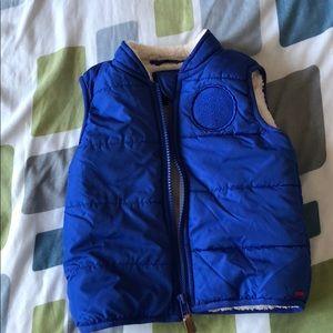 Vest-soft fleece lining